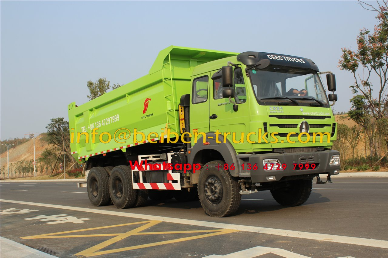 popular in africa factory heavy duty truck 6x4 dump truck