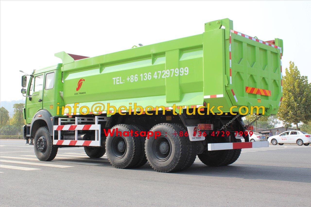 china beiben 2538 dump truck