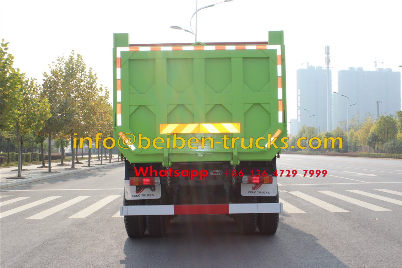 Low price for high quality China 30 ton truck 6X4 beiben dump truck