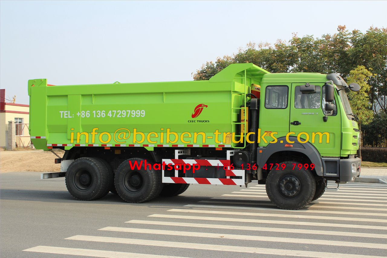north benz 2538 dumper manufacturer