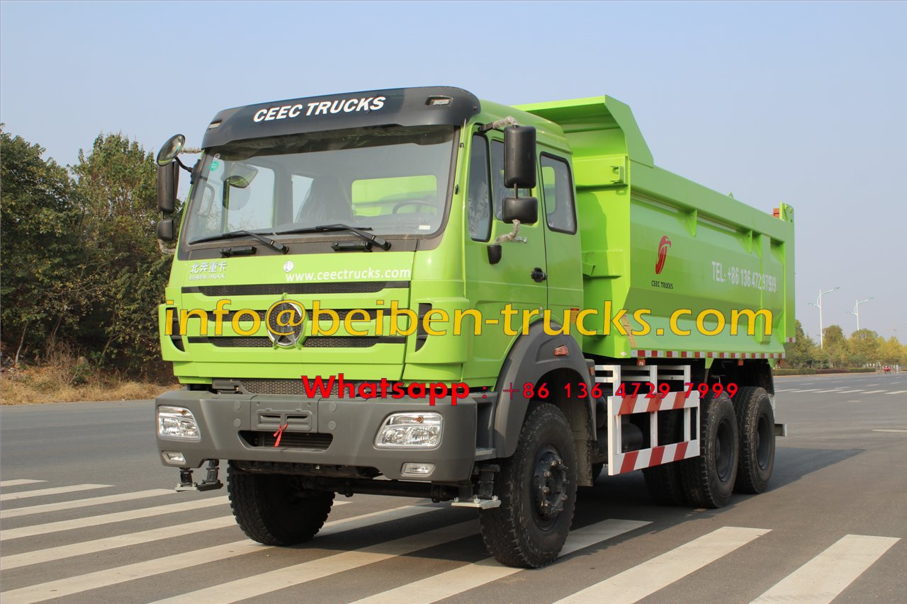 2015 New Heavy Duty Truck Beiben Dump Truck for Sale In Congo