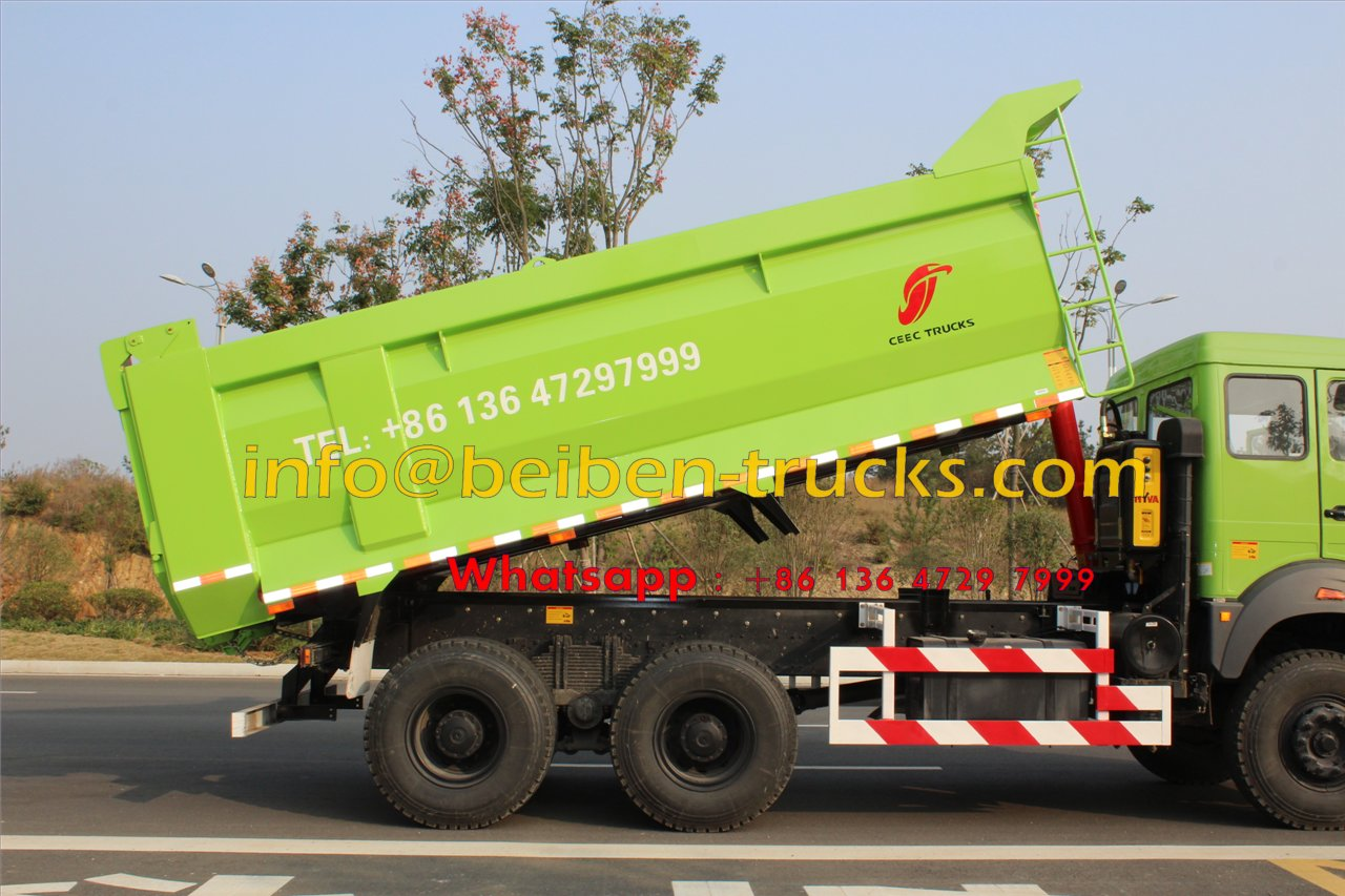 Using Mercedes-Benz Technology beiben north 10 wheeler tipper trucks for sale