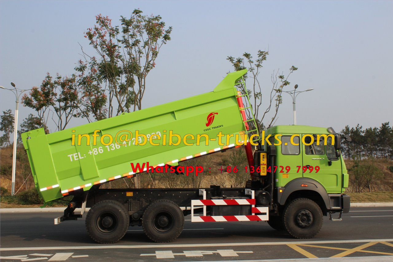 2015 New Heavy Duty Truck Beiben Dump Truck for Sale In Congo