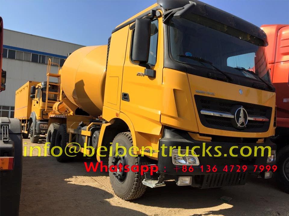 beiben V3 10 CBM concrete mixer trucks