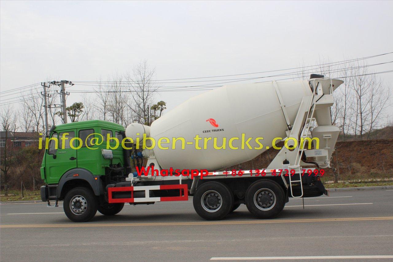 beiben 2534 mixer truck