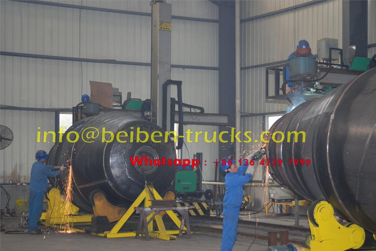 beiben 9 CBM concrete mixer truck manufacturer