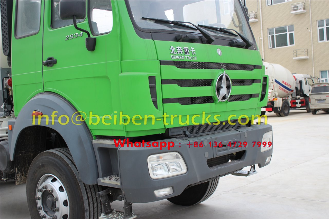 No 1 beiben transit mixer truck factory in china