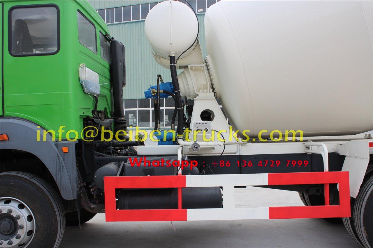 beiben 10 wheeler concrete mixer truck