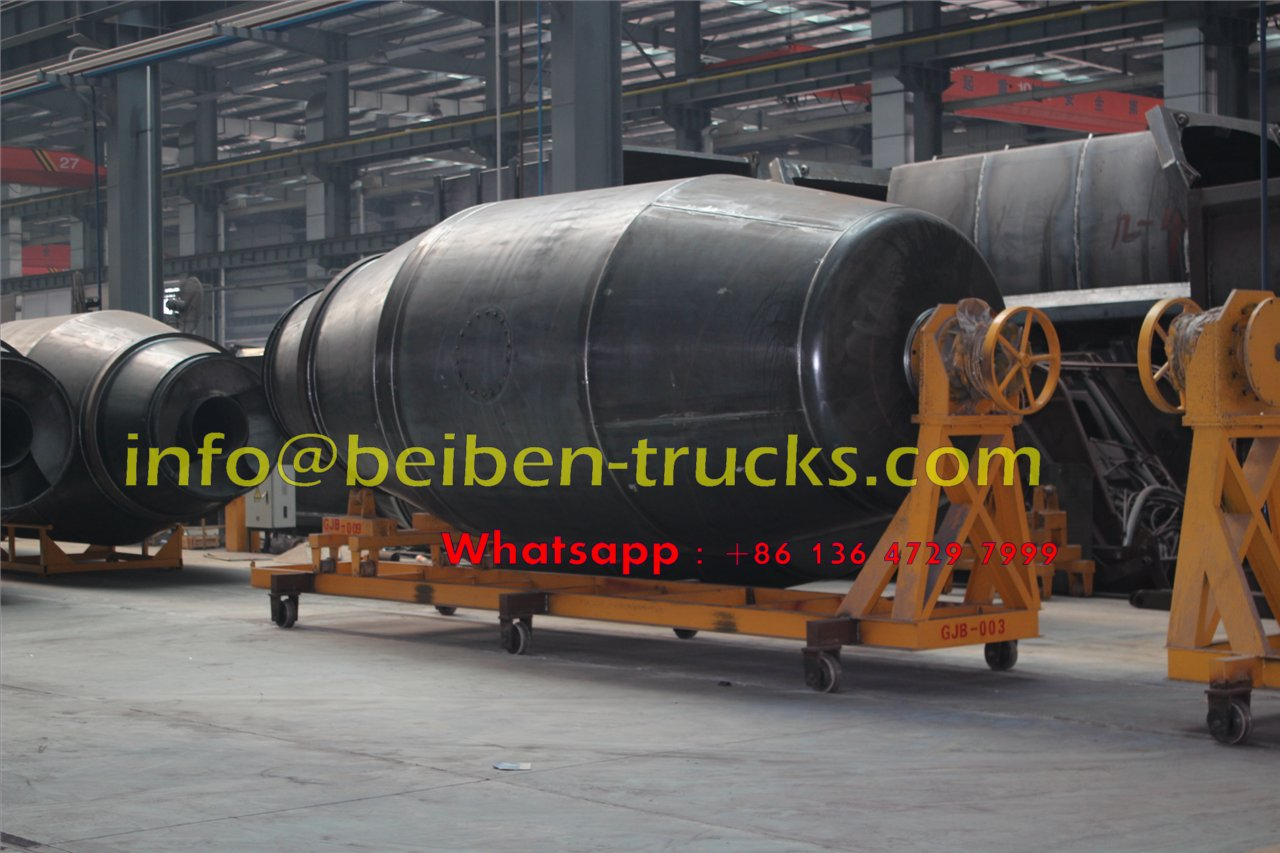 2015 new model Beiben concrete mixer truck price
