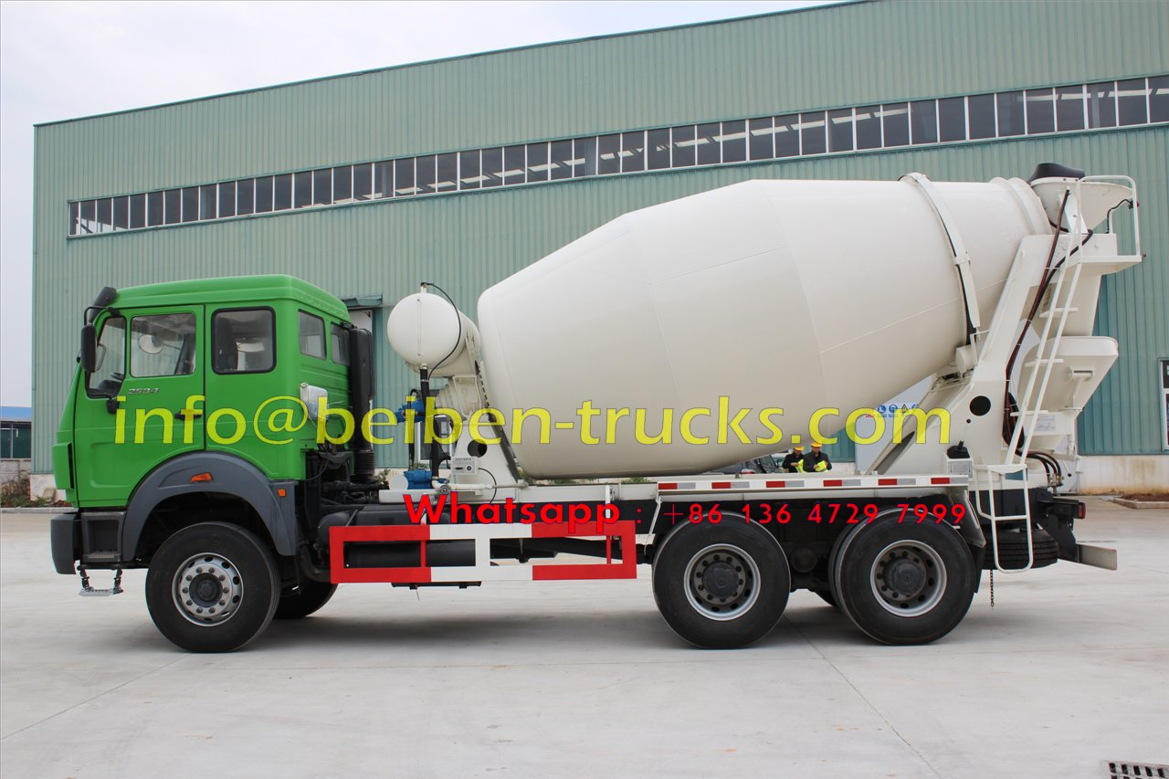 China high quality Beiben 6X4 concrete mixer truck for sale