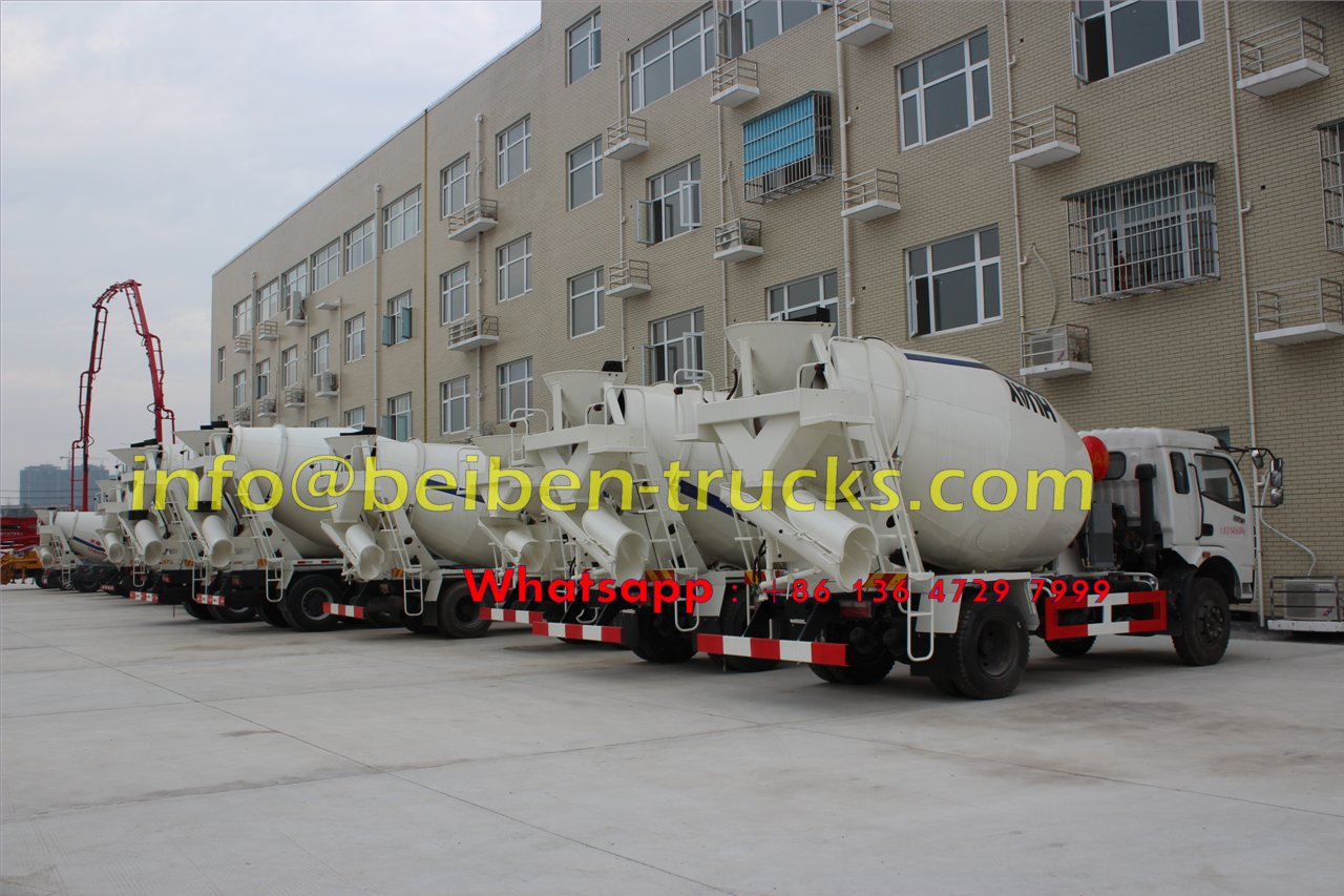 North benz 8cbm 6x4 concrete mixer truck sale in Africa