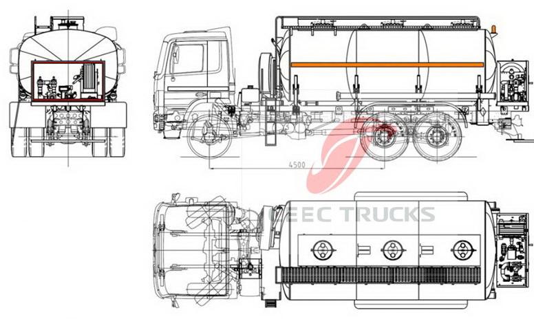 beiben 2534 concrete mixer truck shippment.