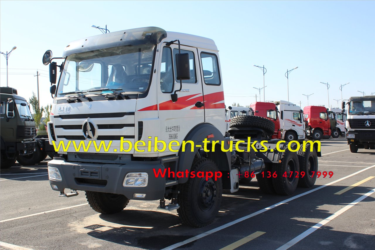 Beiben 2544 tractor truck supplier in china