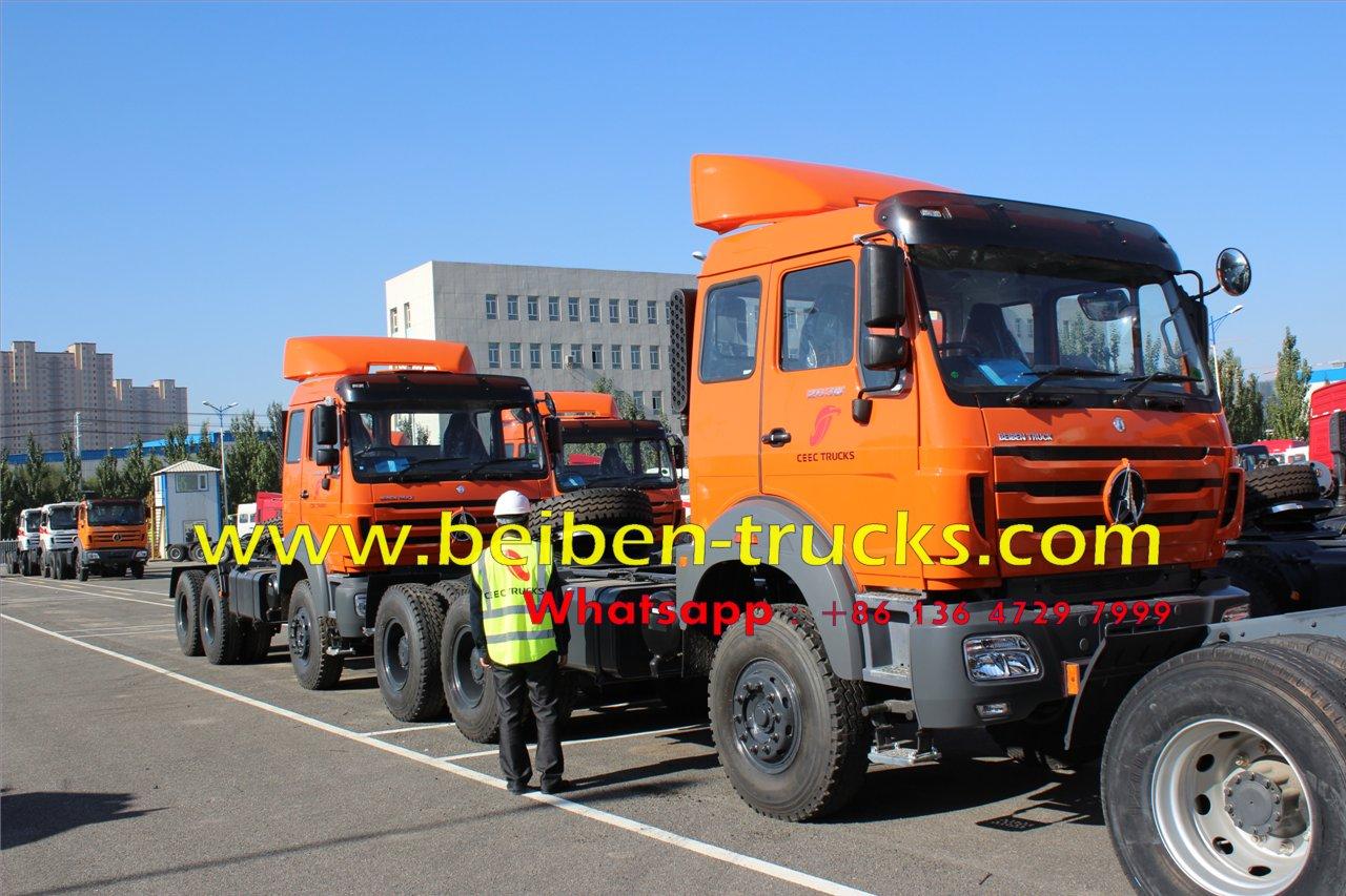 tanzania beiben RHD tractor truck supplier