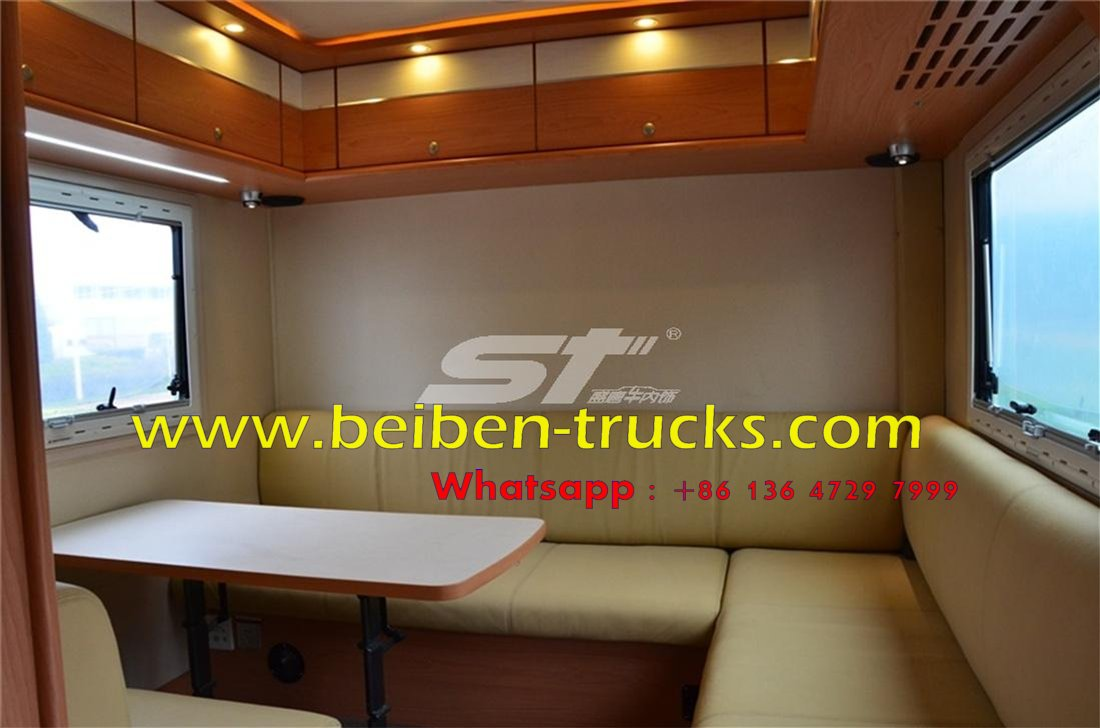 Beiben 6 wheel drive Recreational Vehicle