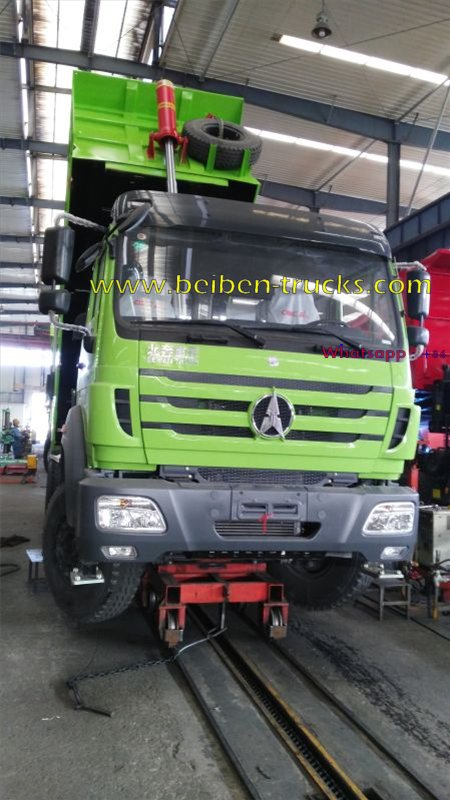beiben 2534 dump truck manufacturer