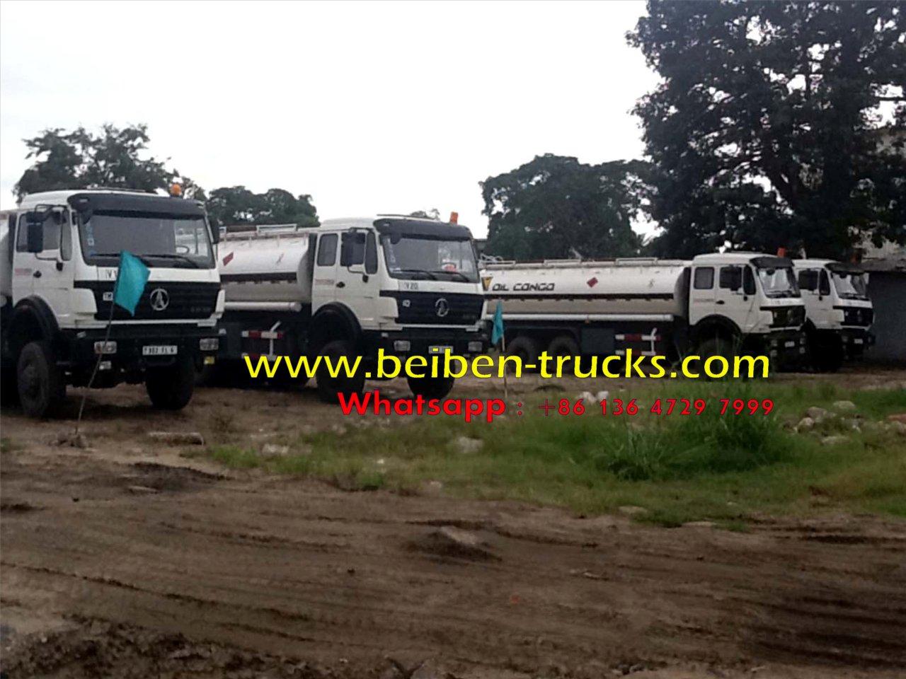 beiben 2534 off road fuel truck