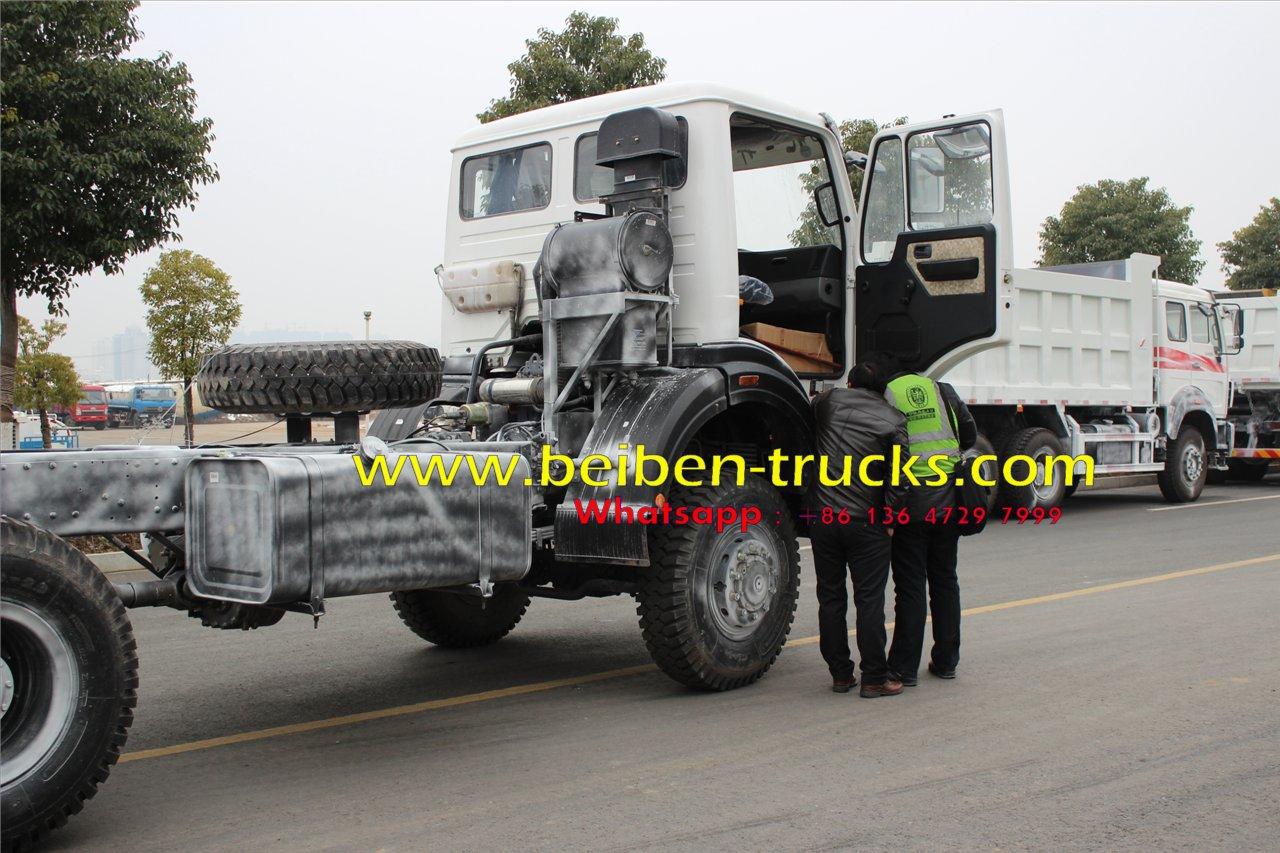 beiben 2534 off road tractor truck