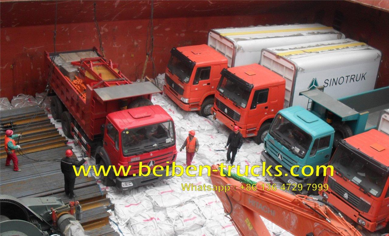 beiben 30 T dump truck manufacturer
