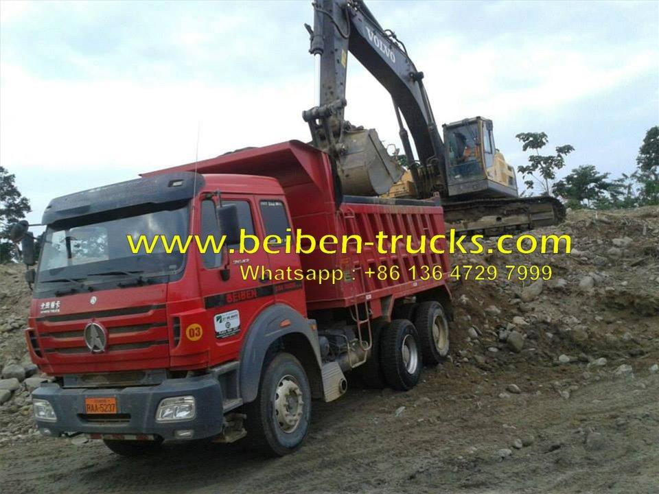 Best beiben 40 T dump truck supplier