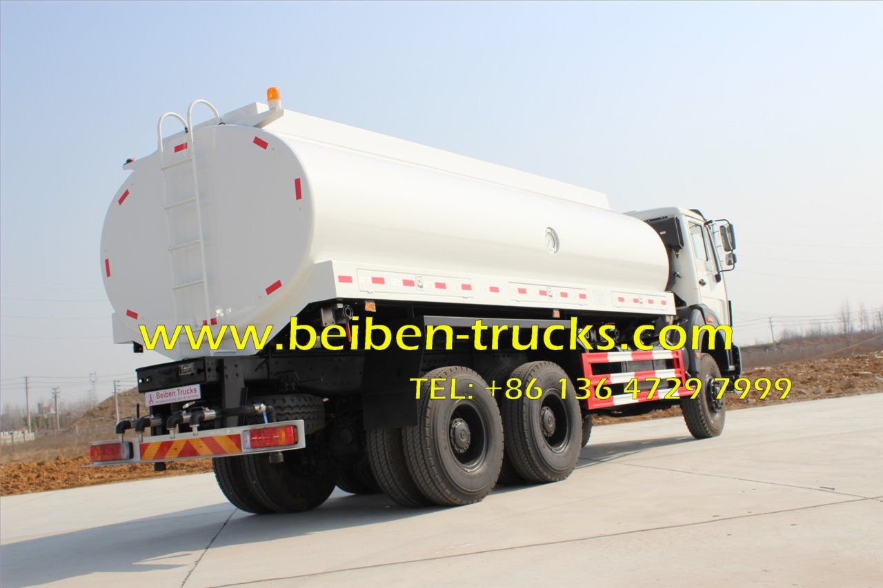 beiben 2538 all wheel drive tanker truck