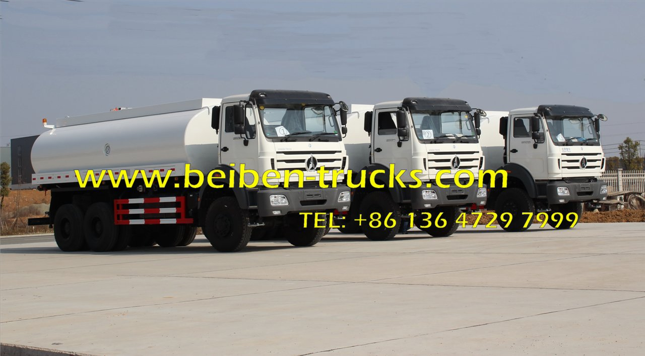 Good Condition beiben NG80B 2638 transportation water tank truck