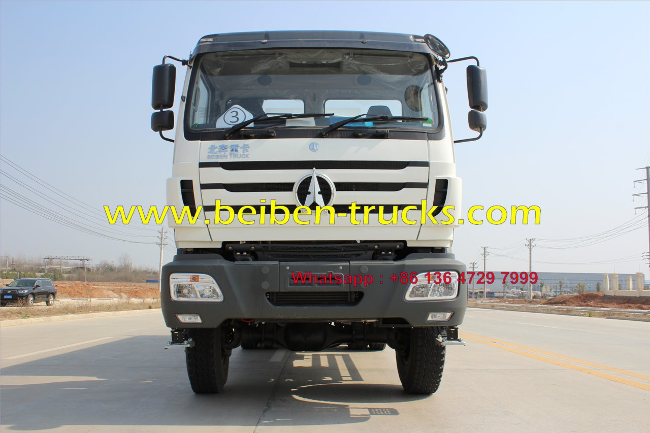 Beiben 2638 6x4 water delivery water tanker truck tanker truck