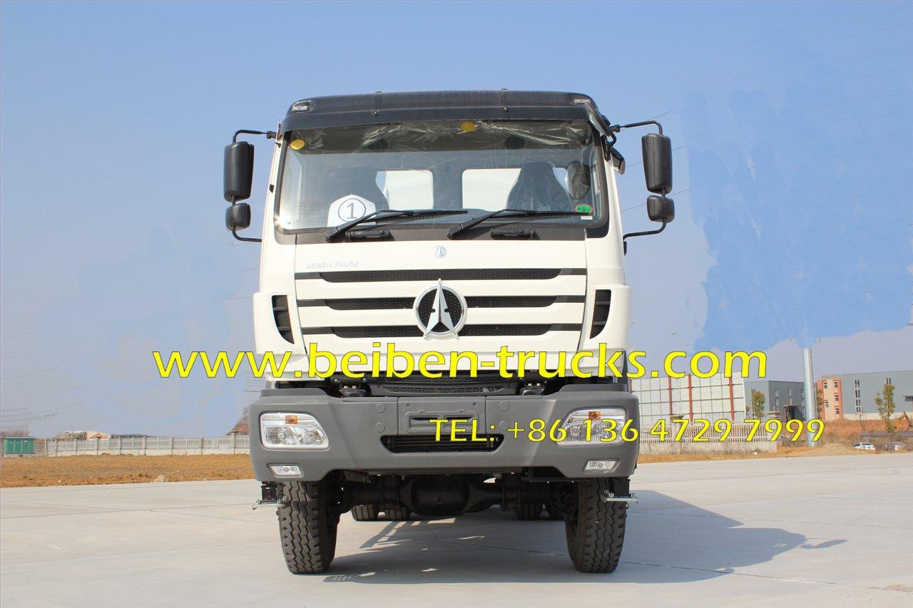 Beiben truck 6x4 NG80 water spray truck truck mounted water tank