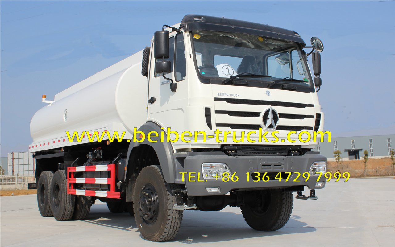 North Benz 6x4 NG80 water sprinkling tank water bowser truck