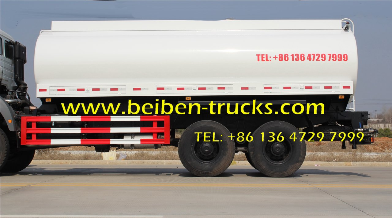 North benz BEIBEN 6x4 336HP tank truck water truck for sale