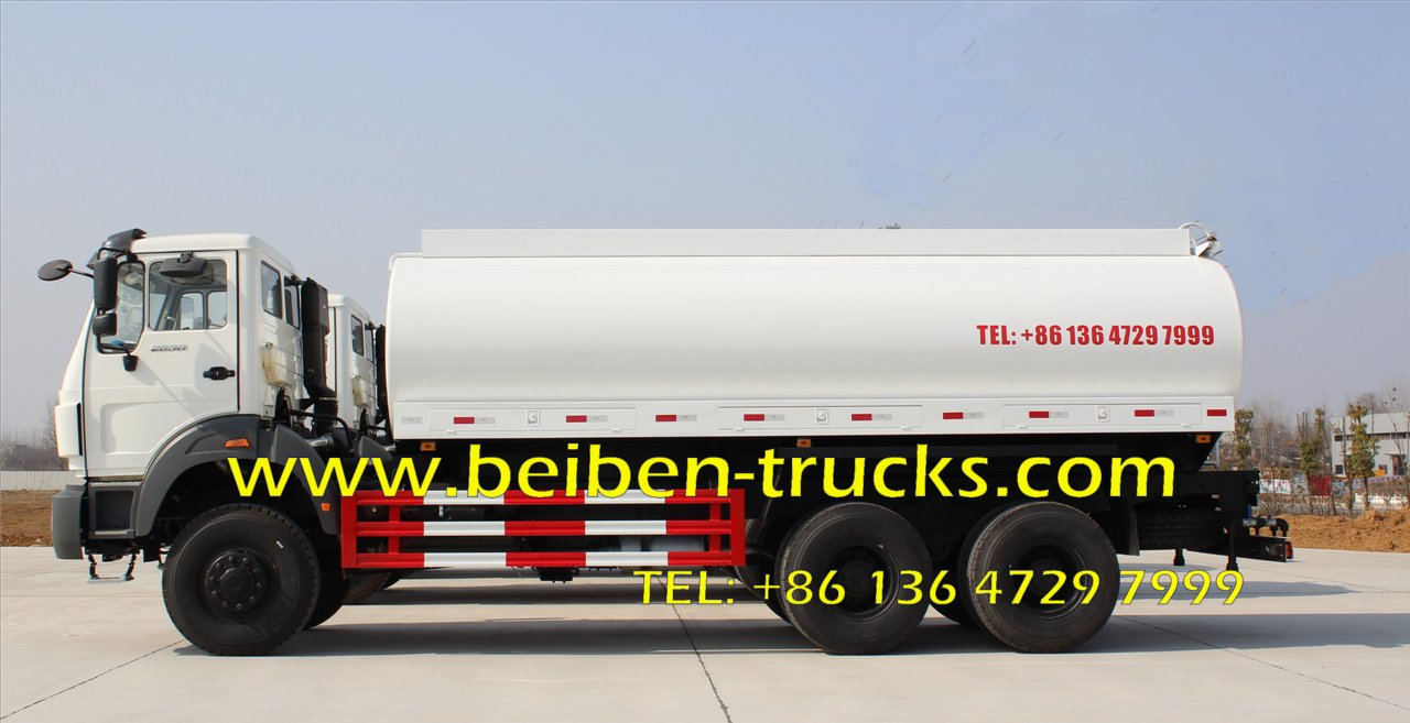 Beiben 6x4 water carrier truck water spray truck for sale