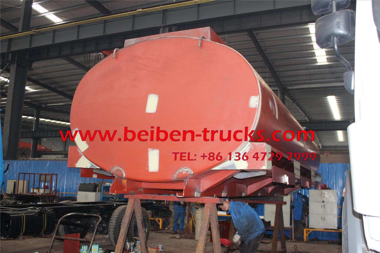 BeiBen/North Benz 6x4 20000L 290hp water tanker truck for sale