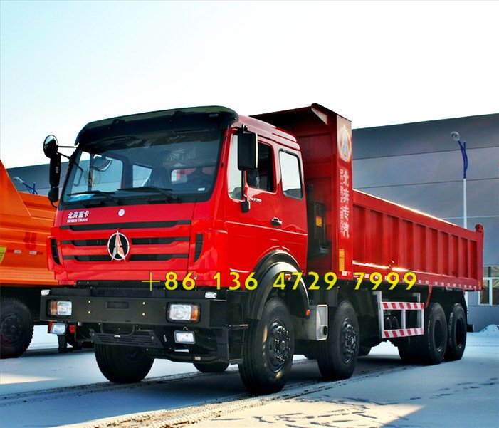 beiben 12 wheeler dump truck supplier