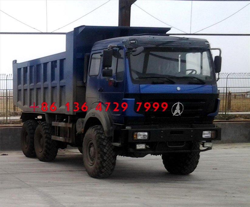beiben 2636 dump truck
