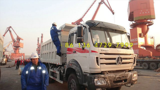 beiben trucks shipping