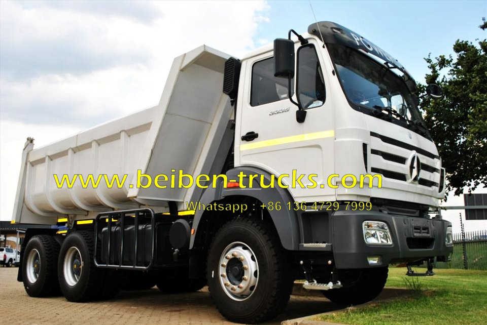 china beiben EURO 2 engine dump truck