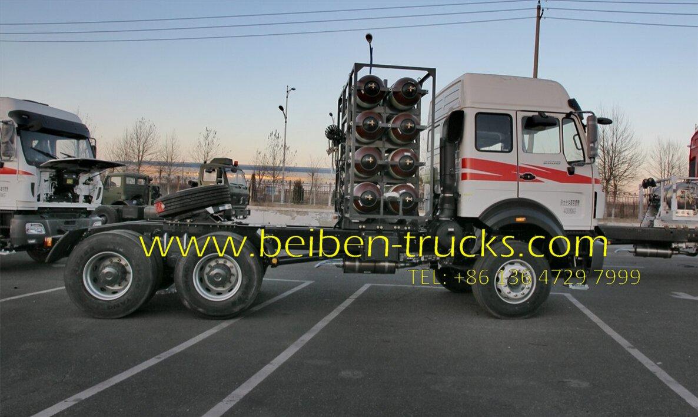 beiben 2538 CNG tractor truck