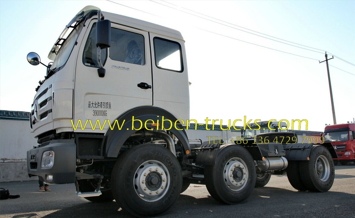 china beiben 2538 tractor truck