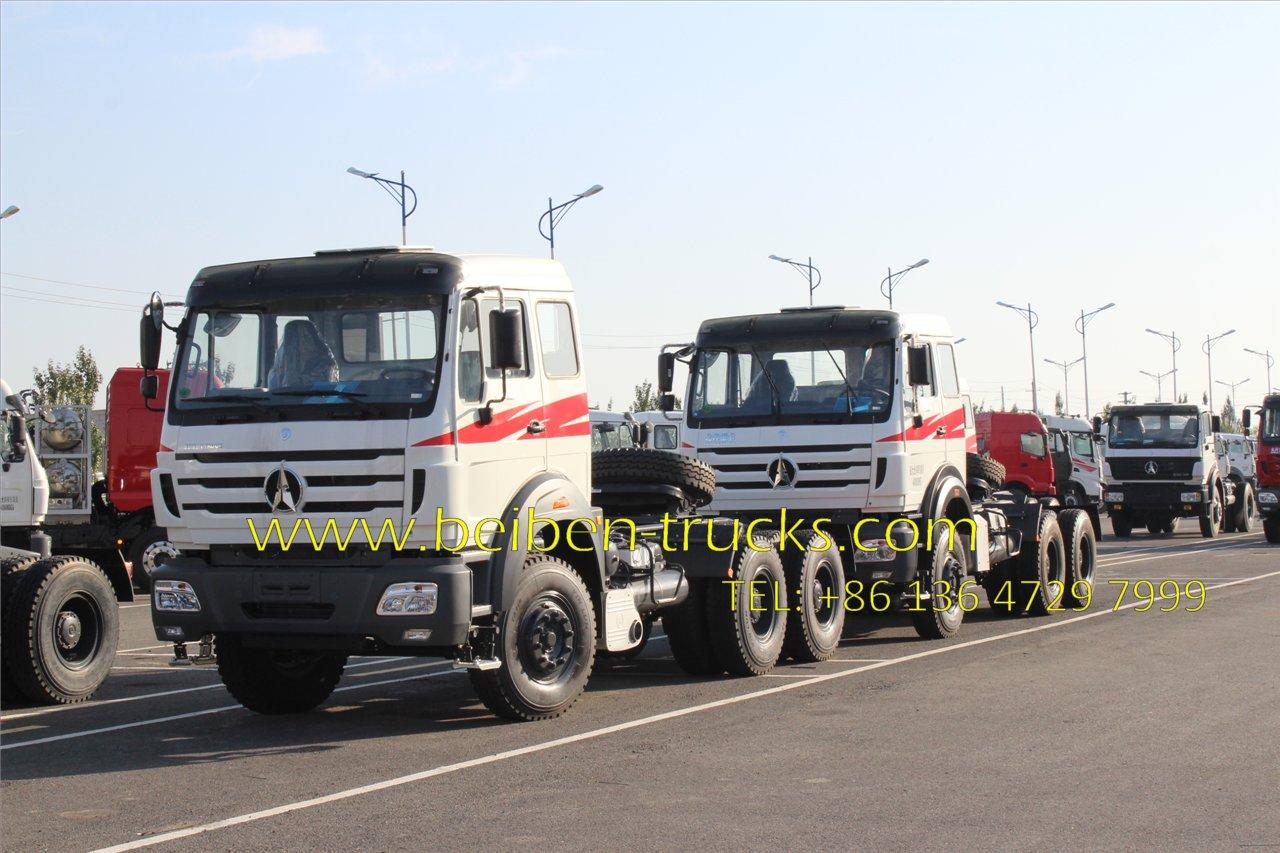 beiben 2638 tractor camions