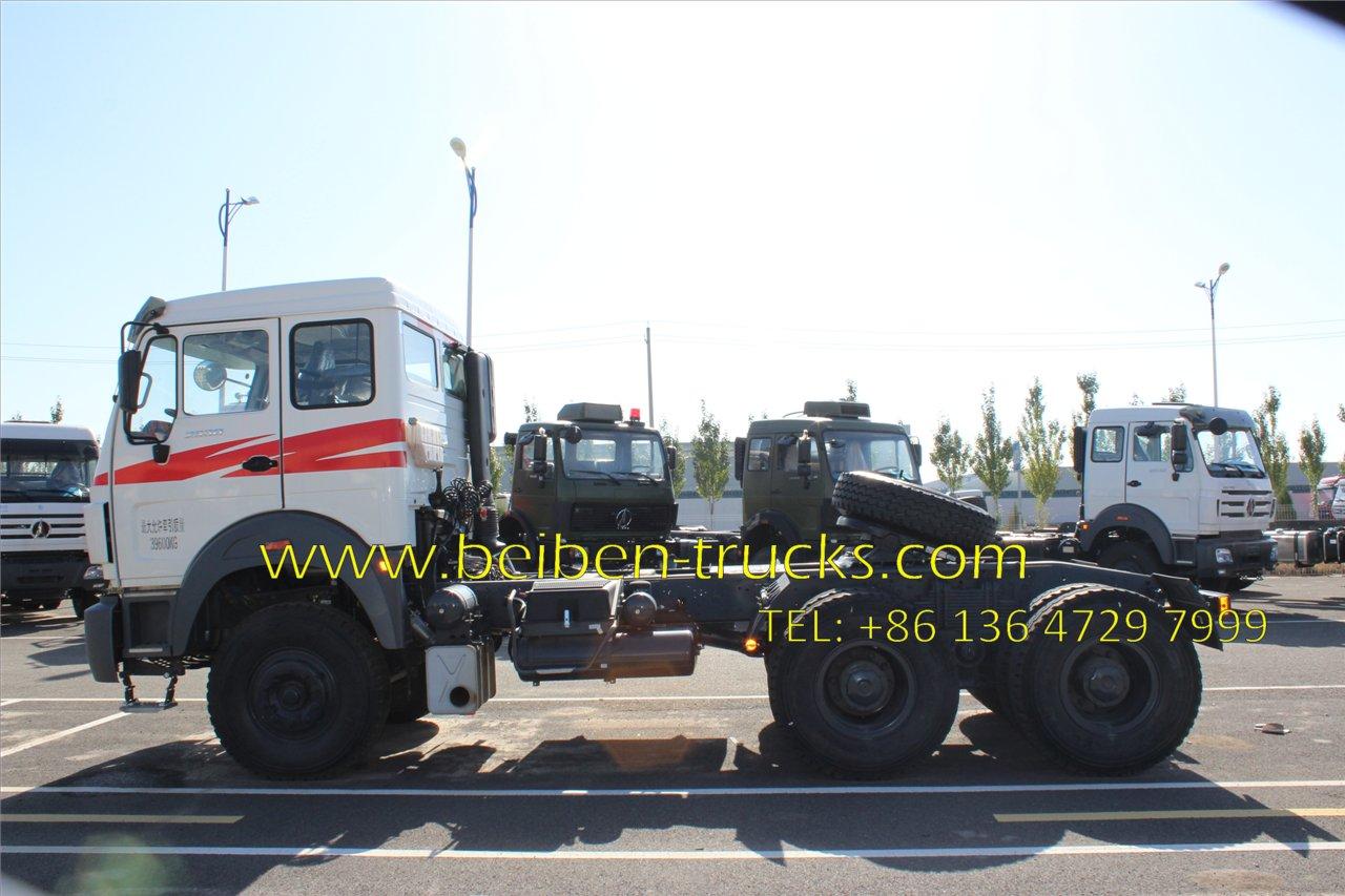 Beiben 2642 trailer truck