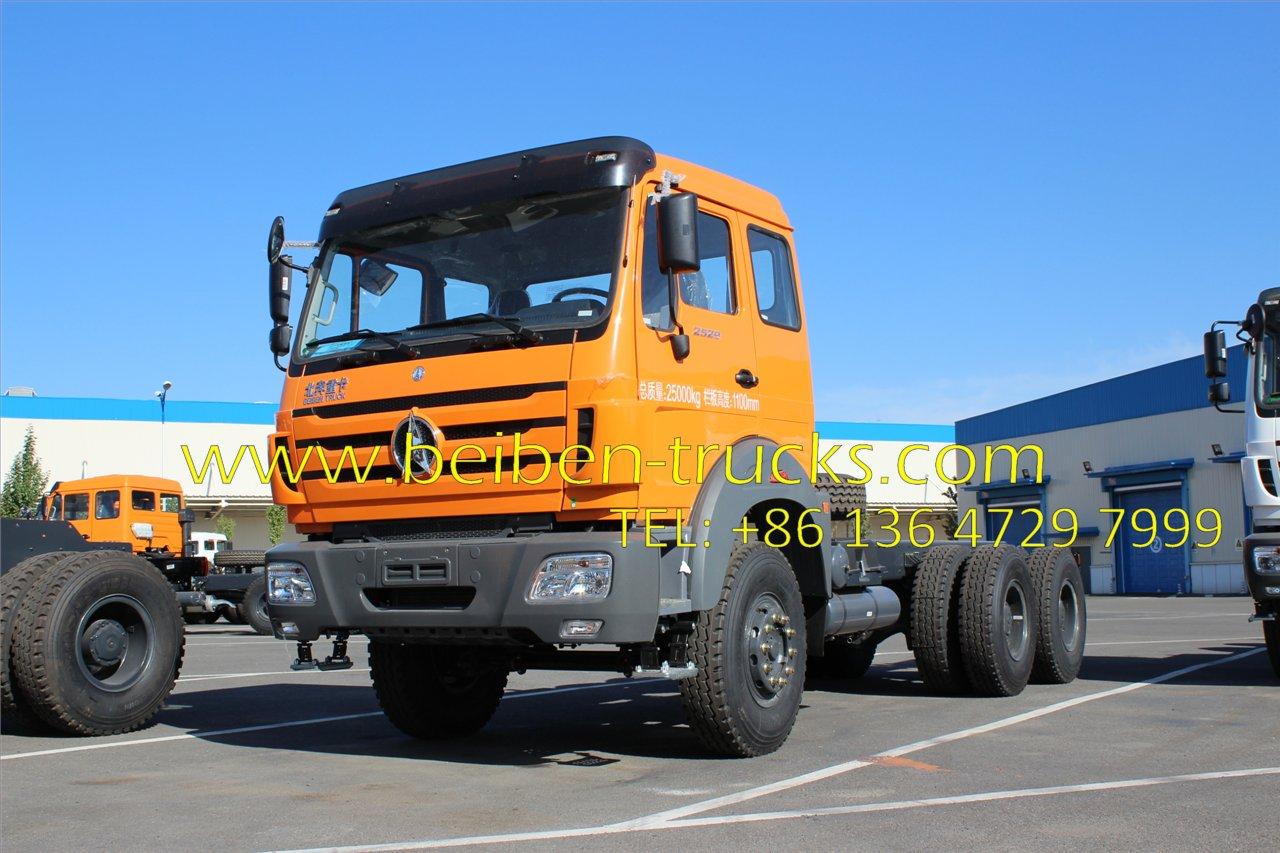 Beiben 2636 tractor truck