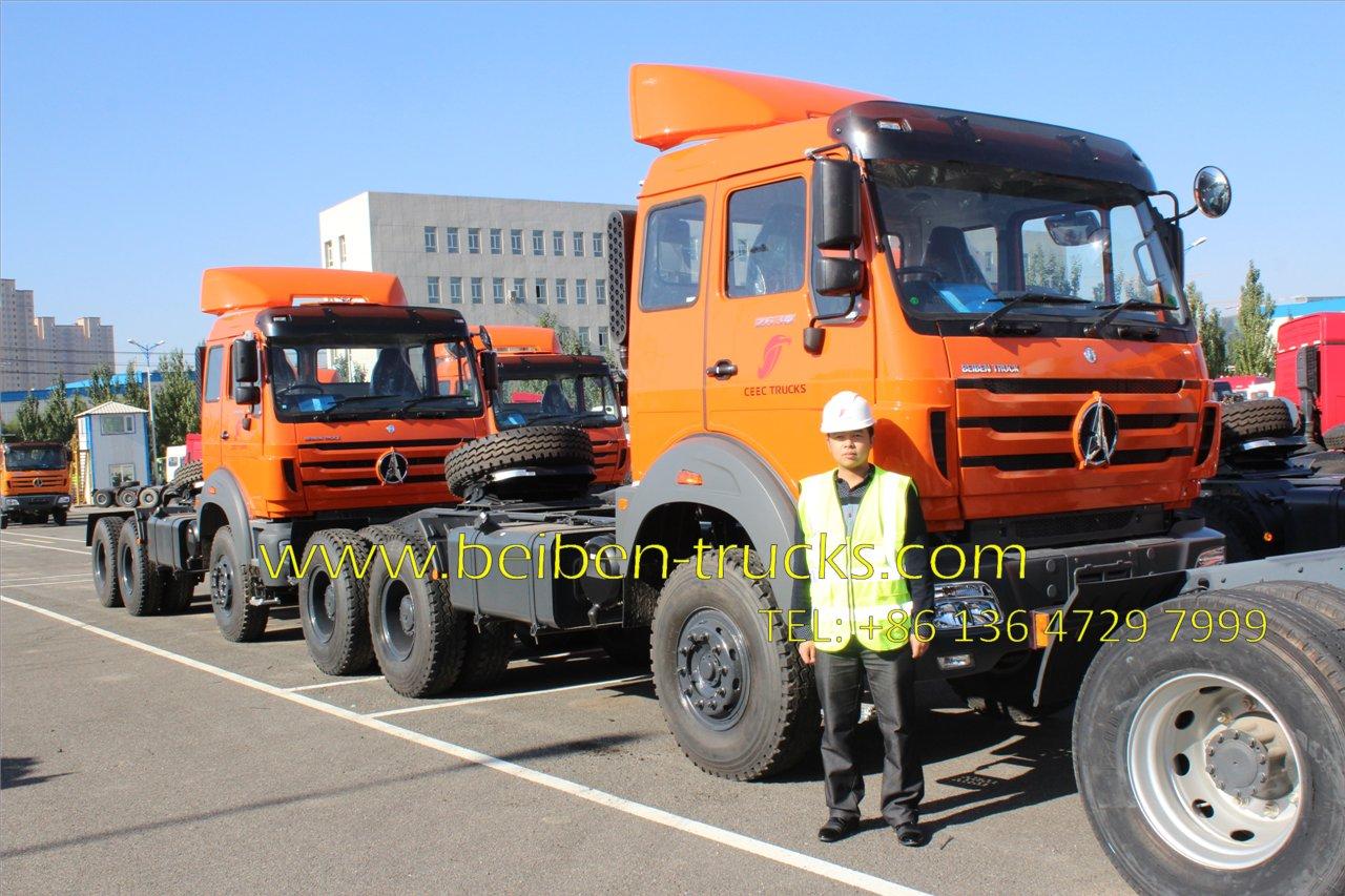 beiben 2638 RHD tractor truck