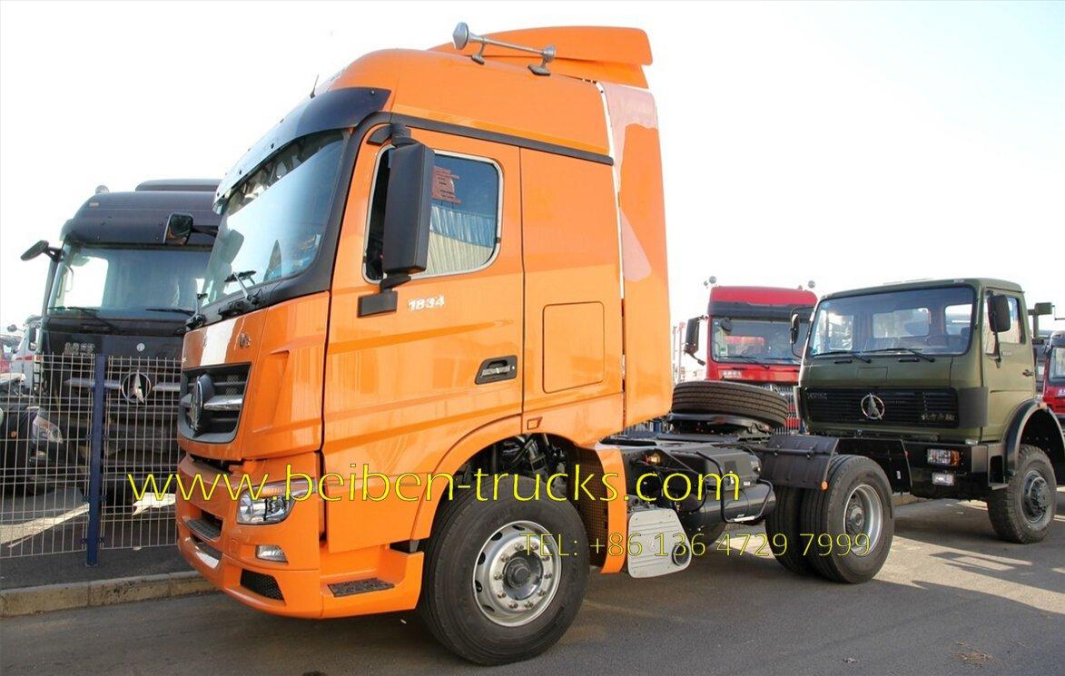 beiben V3 1834 tractor truck