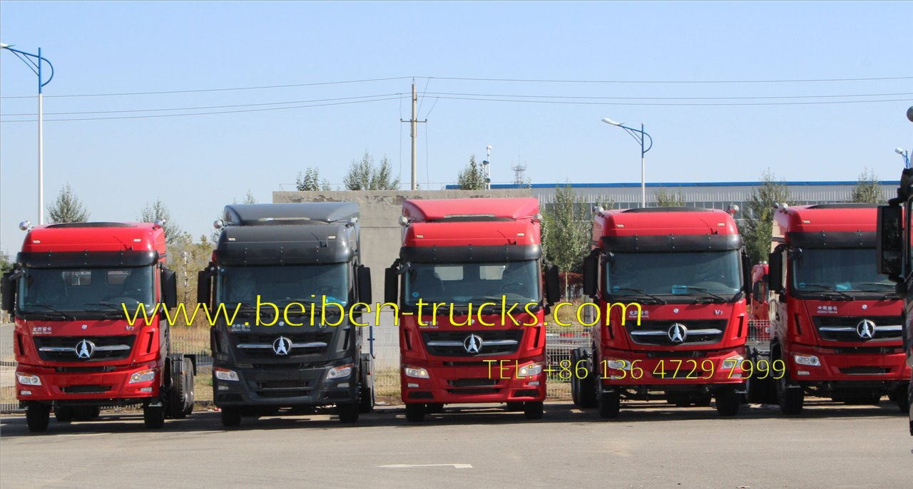 beiben V3 1834 tractor truck supplier