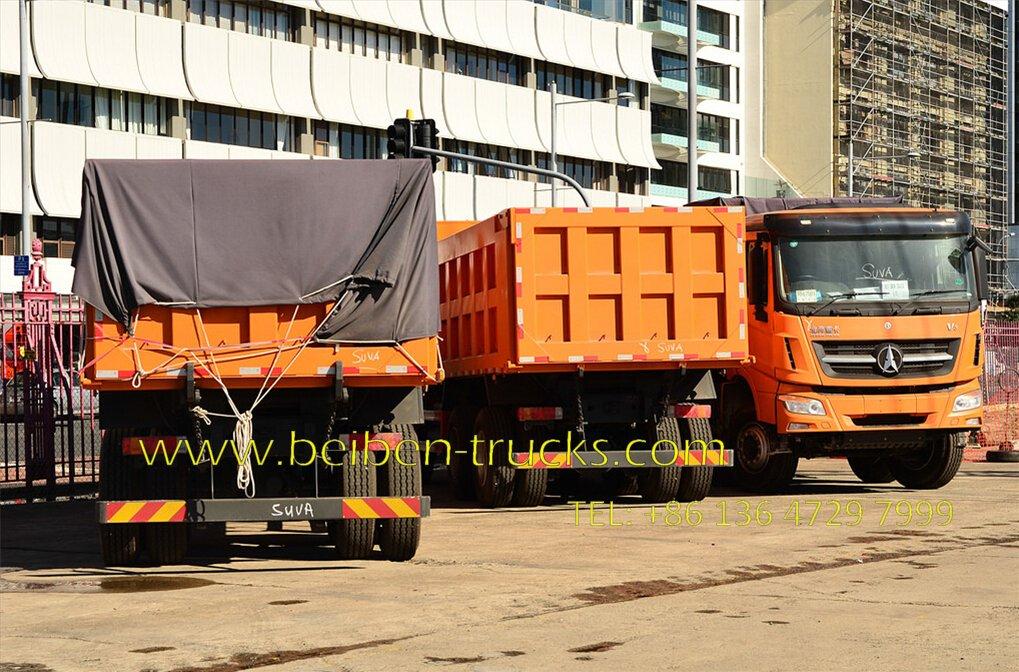 beiben V3 dump truck fiji