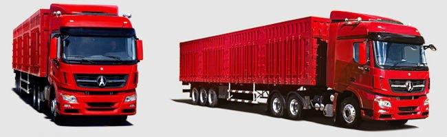 beiben 1842 V3 tractor truck