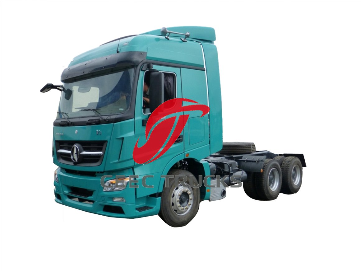 tanzania beiben V3 tractor truck supplier