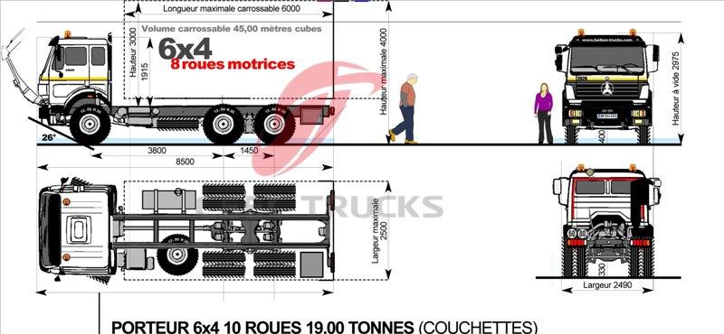 beiben 2534 dump truck