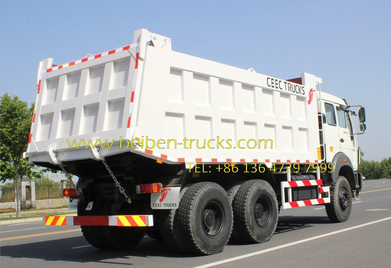 North benz 2534 dumper supplier