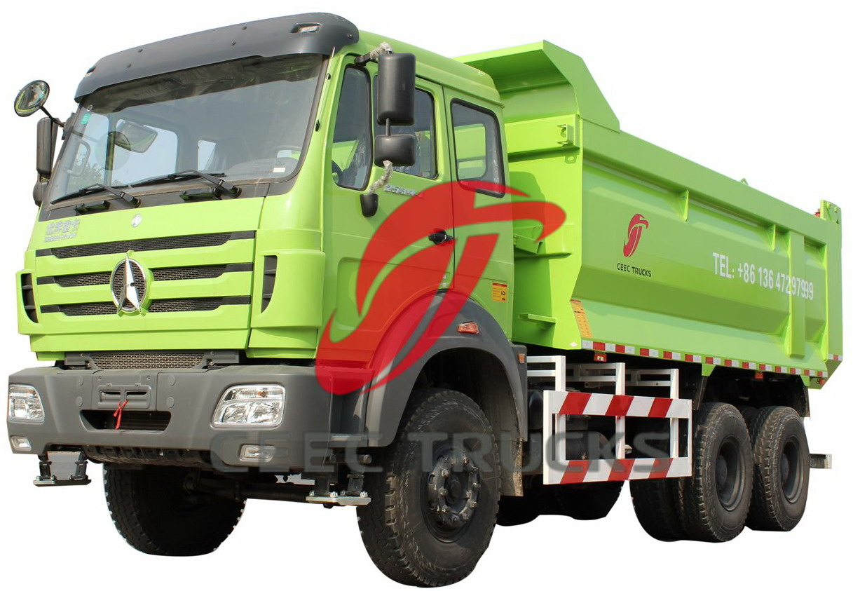 beiben 2534 tipping truck